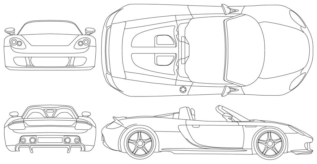 Схематическая картинка автомобиля следили, чтобы