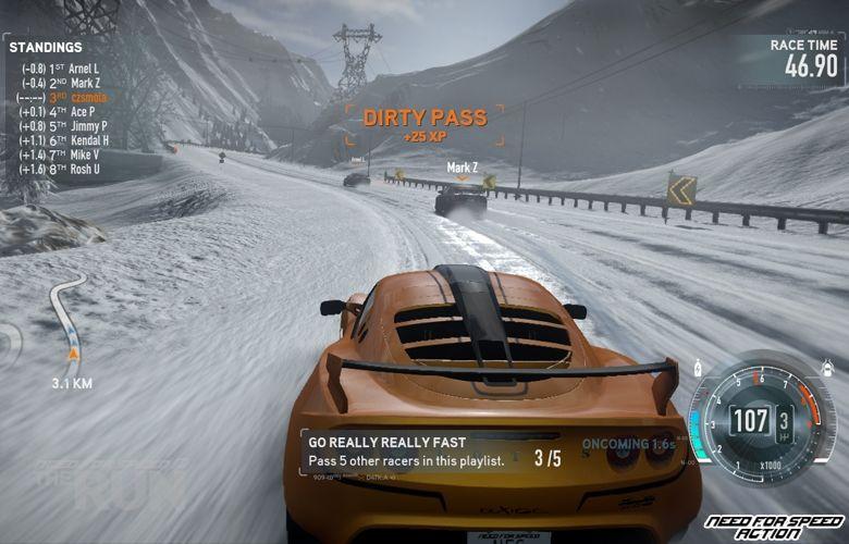 Торрент игры - скачать Racing / Гонки. Need For Speed The Run v.1.1.0.0 20